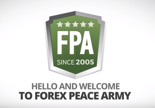 forexpeacearmyのロゴ